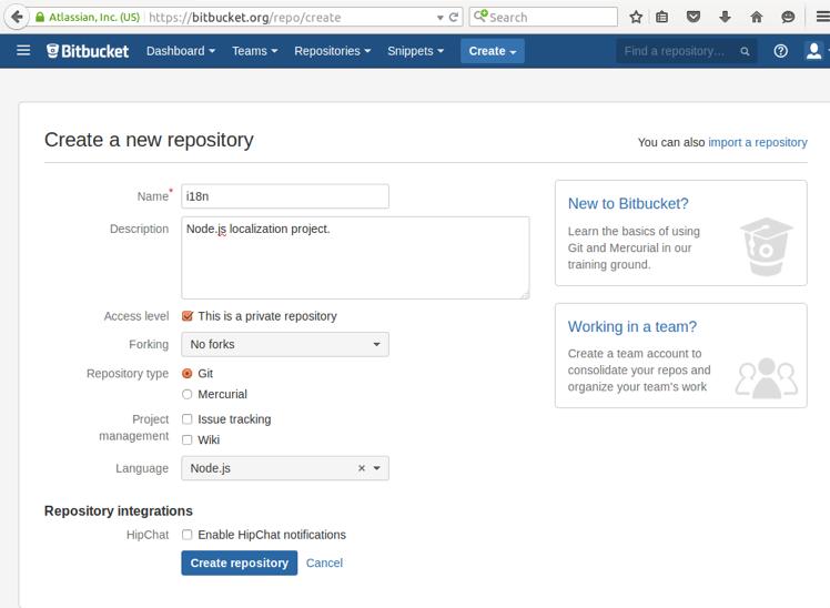 Integrating Transifex and Bitbucket | Transifex