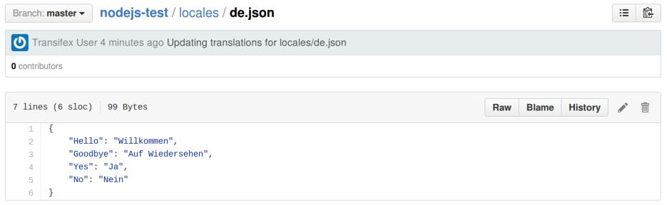 GitHub results