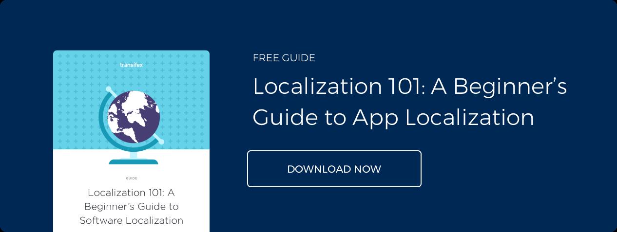 Localization 101 Guide